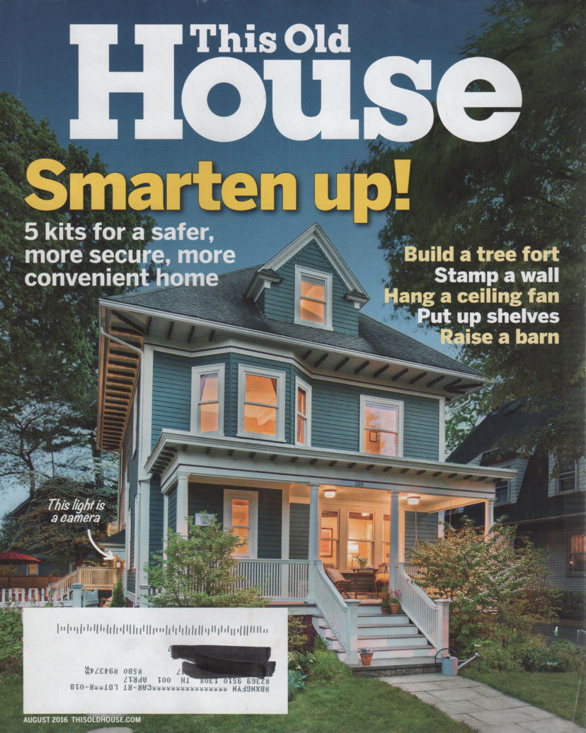 Primary image for This Old House Magazine August 2016 Smart Home Special