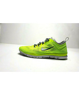 Women's Nike Free 5.0 Fit 4 Volt/Cool Grey-Wolf White Wolf 629496-700 Sz11 - $59.39