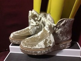 Bill Blass Anthropologie Penny Sutton Chukka Platform Boots Size 6 - $138.60