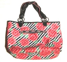 LeSportsac x The OC Limited Edition Rose Floral Stripe Tote Shopper Bag - $47.52