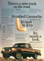 1986 Jeep Comanche XLS Print Ad There's a New Truck on the Road - $10.62