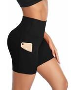 DAYOUNG Women Yoga Shorts High Waist Tummy Control Non See-Through Worko... - $38.51+
