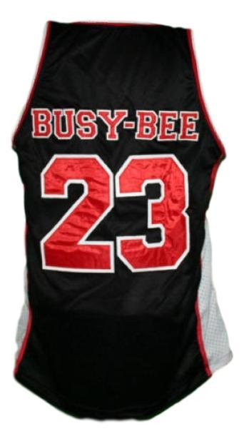 6d866dfbb073 Busy-Bee  23 Sunset Park Movie Basketball Jersey New Sewn Black Any ...