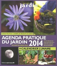 Agenda Pratique Du Jardin 2014 (used French paperback) - $13.00