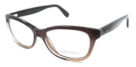 Jimmy Choo Rx Eyeglasses Frames JC 87 2PI 51-16-140 Brown Glitter Brown ... - $109.76