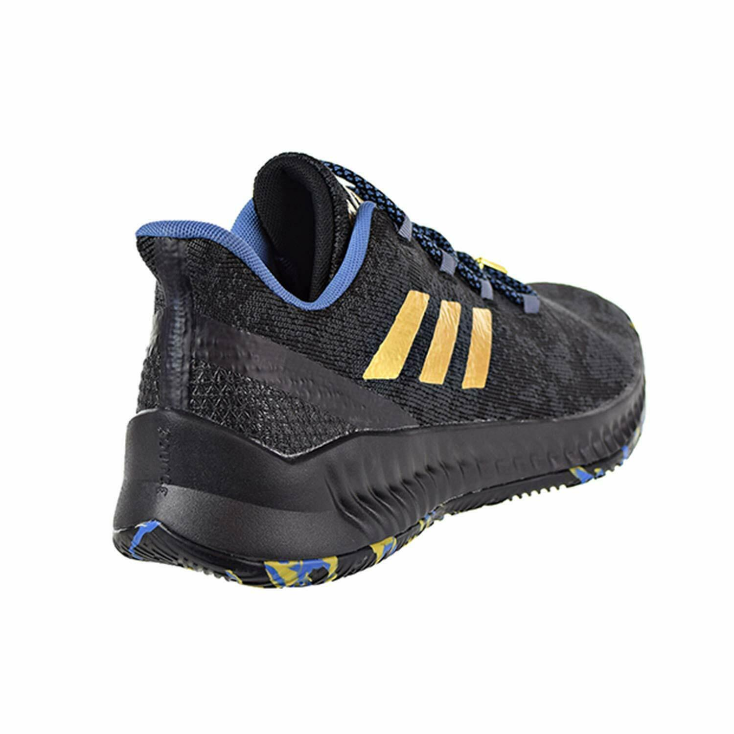 Adidas Harden B/E X MVP James Black Blue Gold Mens Basketball Shoes F36813 image 3