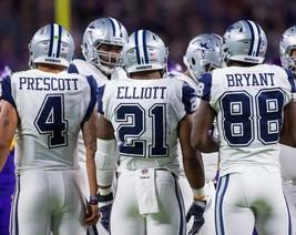 Dak Prescott Ezekiel Elliott D Bryant 8X10 Photo Dallas Cowboys Picture Football - $3.95