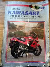 Kawasaki Ninja 900-1000 Repair Manual 84-87 Clymer M453 - $16.40