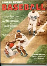 Sports Review's Baseball 1956-classic cover-MLB info & pix-VF - $60.63