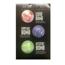 New da Bomb Bath Fizzers 3 PK Party Bomb Glamour Bomb Mystery Bomb