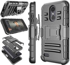 LG Aristo 2 Case, LG Tribute Dynasty / LV3 2018 Holster Clip, Tekcoo [H... - $16.99