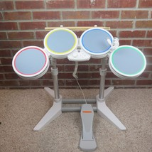 Wii Rock Band Drum Kit With Sticks TESTED - $74.47