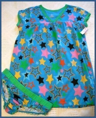Primary image for NWT'S Stars Babydoll Short Nightwear 2pc set SMALL $30