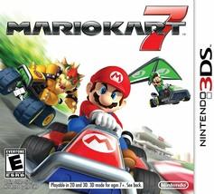 3DS Mario Kart 7 (Nintendo 2011) Car Racing Video Game Brand New Sealed ... - $24.99