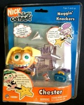"2003 Chester 3"" Jakks Noggin Knockers Action Figure Fairly Odd Parents - $18.76"
