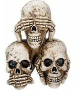 SUMMIT COLLECTION 3.75 Inch Pyramid of Hear, See, and Speak No Evil Anim... - $14.84