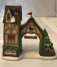 DEPT 56 DICKENS VILLAGE POSTERN 10th YEAR ANNIVERSARY 1984-1994 #9871-0 - $16.83