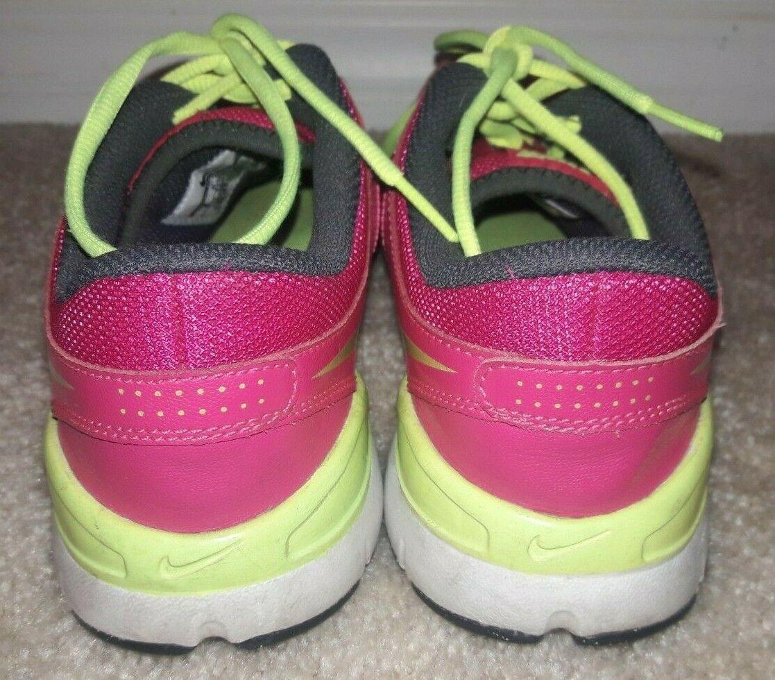 Nike Training Flex TR2 Sneakers Pink Yellow 511332-632 Sz Womens 8 Athletic Shoe