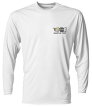 6 Personalized Custom Front & Back Printed Dri Fit Longsleeve Fishing Sun Shirt image 4