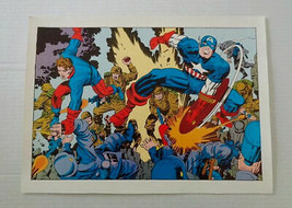 Original 1978 Kirby Captain America Winter Soldier Bucky Marvel Comics p... - $49.49
