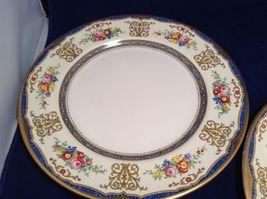 Antique Set of 6 Porcelain Plates by Pareek Johnson Bros England image 5