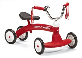 Toddler Kick Scooter for 1 to 3 Years old Radio Flyer Scoot-About Alumin... - $60.41