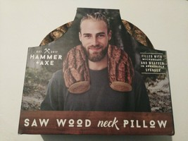 HAMMER AXE SAW WOOD NECK PILLOW Travel  microbeads Support Light Weight ... - $15.00