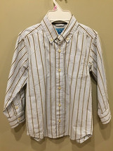 Childrens Place Collared Shirt Button Down Dress Shirt Boys Size Small (5-6) - $3.92