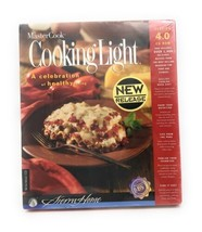 MasterCook Cooking Light Version 4.0 CD ROM for Windows and Mac - $16.95