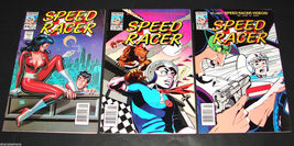 3 1989 NOW Comics SPEED RACER #24, 28, 29 F-VF Comic Book - $11.69