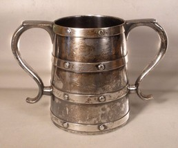 Reed & Barton Silverplate Two Handled Mug - $16.00