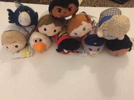 "Disney TSUM TSUM 3.5"" Mini Plush Lot 10 ct Frozen Star Zootopia Moana Ma... - $34.64"