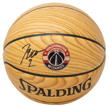 John Wall Signed Washington Wizards Spalding Wood Grain Basketball JSA - $188.09