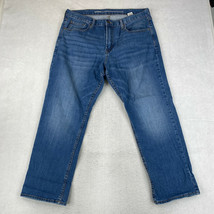 Old Navy Jeans Mens Size 38X30 Blue Straight Leg Athletic Fit Pants - $18.95