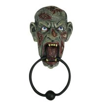 PTC Pacific Giftware Screaming Zombie Resin Door Knocker Statue Figurine... - £15.30 GBP