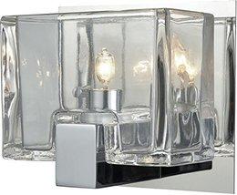 """Elk Lighting 11960/1 Vanity-Lighting-fixtures 5 x 6 x 4"""" Chrome - $104.00"""