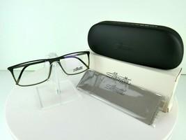 Silhouette SPX Illusion Fullrim 2892 6054 Khaki 56-15-145 Eyeglass Frames - $90.20