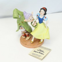 Snow White Dopey Disney Collection Magic Memories Porcelain Figurine 5603/15000  - $73.50