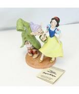 Snow White Dopey Disney Collection Magic Memories Porcelain Figurine 560... - $73.50