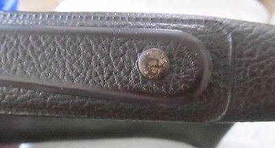 Vintage Property of US Government Bag Briefcase Angler's Co Case Flushing, N.Y.