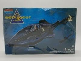 SeaQuest DSV Stinger Model Kit - Monogram 1:20 Scale 1994 Skill 2 NOS Bo... - $22.65