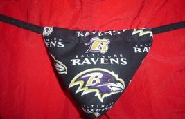 New Sexy Mens Baltimore Ravens Nfl Gstring Thong Underwear - $14.99