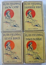 Ruth Fielding 4 LOT nos. 3, 4, 5, & 10 Alice B. Emerson hardcovers with ... - $24.00