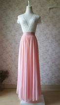 Blush Skirt and Top Set Elegant Plus Size Blush Wedding Bridesmaids Outfit NWT image 5