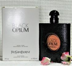 Yves Saint Laurent BLACK OPIUM 3oz/90ml Eau De Parfum (Demo Box/Actual P... - $79.89