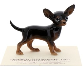 Hagen-Renaker Miniature Ceramic Dog Figurine Chihuahua Tiny Mama Black - $9.49