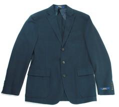 """Ralph Lauren Mens Navy Blue Harvard Sports Coat Jacket Blazer 38R"""" - $272.06"""