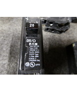 2 New Eaton BR120 Circuit Breakers 20A 1 pole Type - $17.82