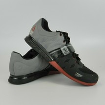 Reebok Crossfit CF74 Men's Sz 13 Weight Lifter 2.0 Black & Gray Workout Shoes - $64.95