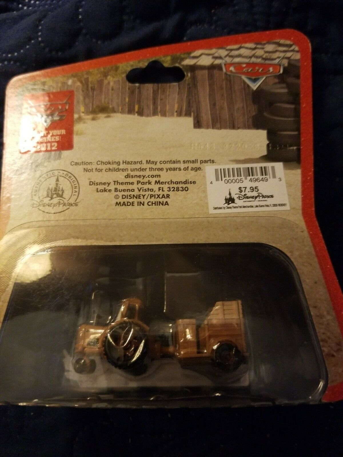 Disney Pixar Cars Land - Mater's Junkyard Jamboree - NEW - 2012 - 1:55 scale image 2